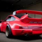 RWB Porsche 911 Rauh-Welt Begriff Red high detail rear view