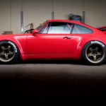 RWB Porsche 911 Rauh-Welt Begriff Red high detail side profile