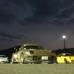 RWB Porsche 911 Rauh-Welt Begriff gold at night