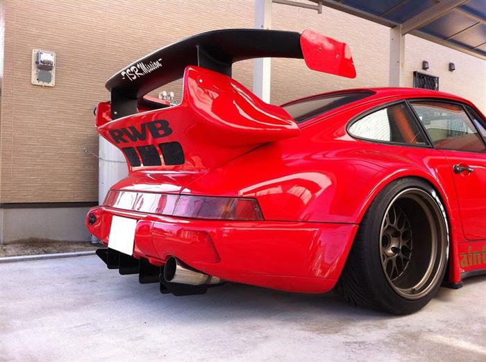Rwb Porsche 911 Rauh Welt Begriff Red Rear Diffuser And