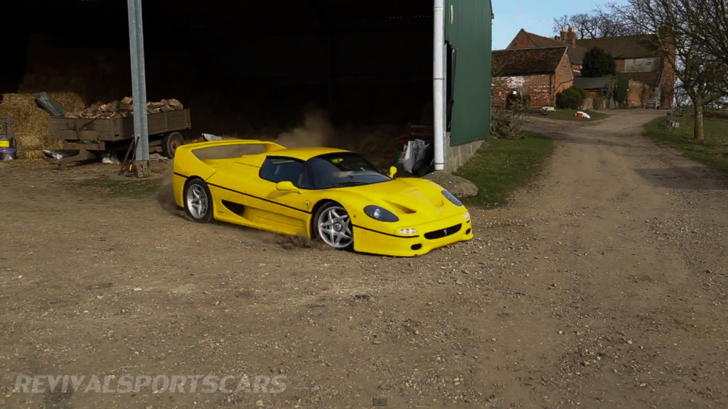 Ferrari F50 taxtherich yellow racing red private estate