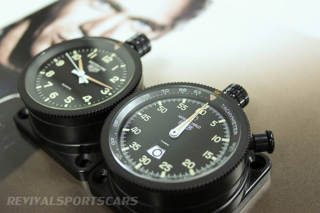 Tag Heuer Rally-Master Monte Carlo 12 hour timer set