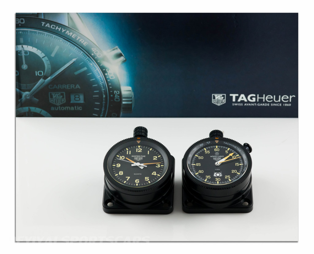 Tag Heuer Rally-Master Set Monte Carlo Time 12 hour 8 day with catalogue