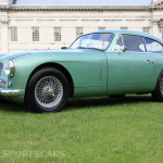 Aston Martin AMOC Spring Concours DB2 side