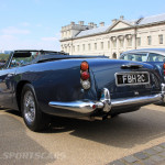Aston Martin AMOC Spring Concours DB5 convertible blue