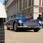 Aston Martin AMOC Spring Concours DB5 low front blue