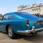 Aston Martin AMOC Spring Concours DB5 rear blue