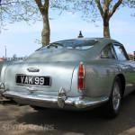 Aston Martin AMOC Spring Concours DB5 rear silver