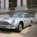 Aston Martin AMOC Spring Concours DB5 silver