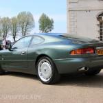 Aston Martin AMOC Spring Concours DB7 rear green