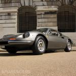 Aston Martin AMOC Spring Concours Ferrari Dino low grey front