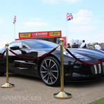 Aston Martin AMOC Spring Concours One-77 low front black