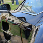 Aston Martin AMOC Spring Concours One-77 rear arch curve vent