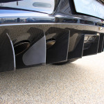 Aston Martin AMOC Spring Concours One-77 rear diffuser carbon