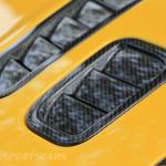Aston Martin AMOC Spring Concours V12 Vantage Carbon Vents bonnet