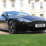 Aston Martin AMOC Spring Concours V12 vantage low front