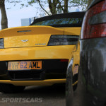 Aston Martin AMOC Spring Concours V8 V12 Vantage rear