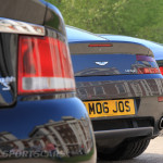 Aston Martin AMOC Spring Concours Vanquish S Vantage DB7 lineup