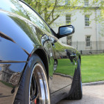 Aston Martin AMOC Spring Concours Vanquish S rear bulge
