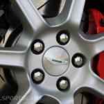 Aston Martin AMOC Spring Concours Vantage V8 wheels brakes