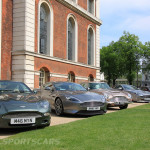 Aston Martin AMOC Spring Concours greenwich lineup