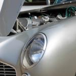 Aston Martin AMOC Spring Concours light closeup DB5