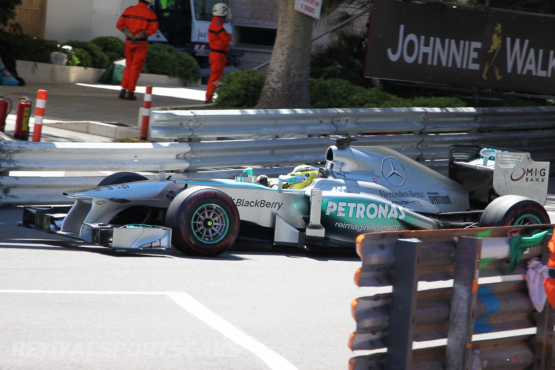Monaco Formula 1 2013 Mercedes side