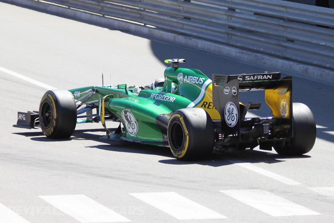 Monaco Formula 1 2013 caterham