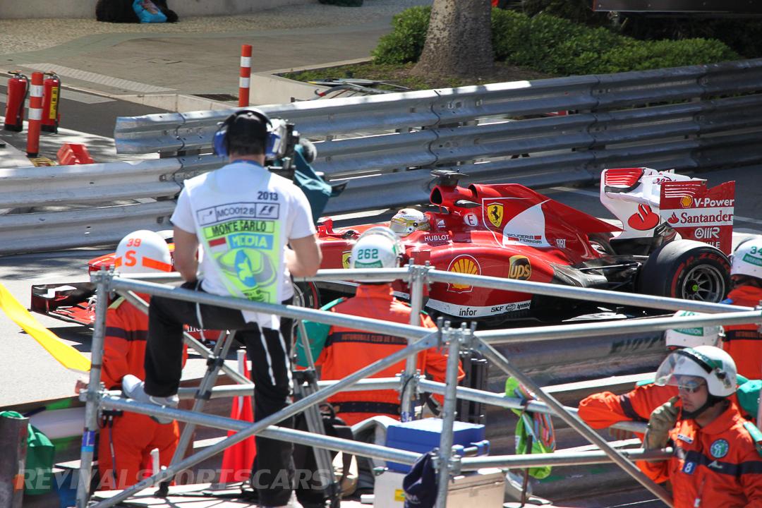 Monaco Formula 1 2013 ferrari film camera