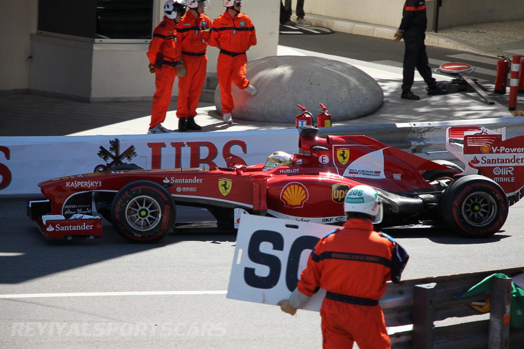 Monaco Formula 1 2013 ferrari safety car