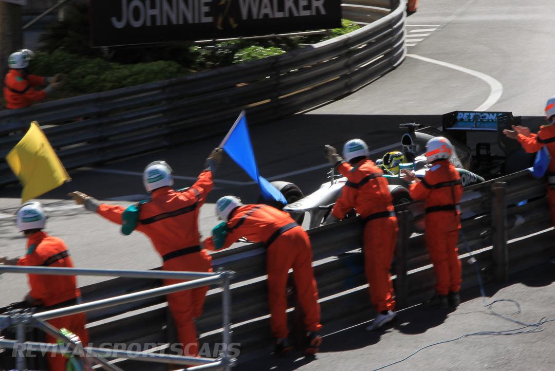 Monaco Formula 1 2013 finish mercedes end