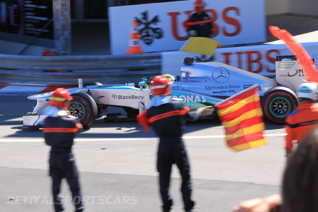 Monaco Formula 1 2013 flags