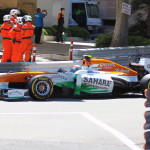 Monaco Formula 1 2013 force india marshalls