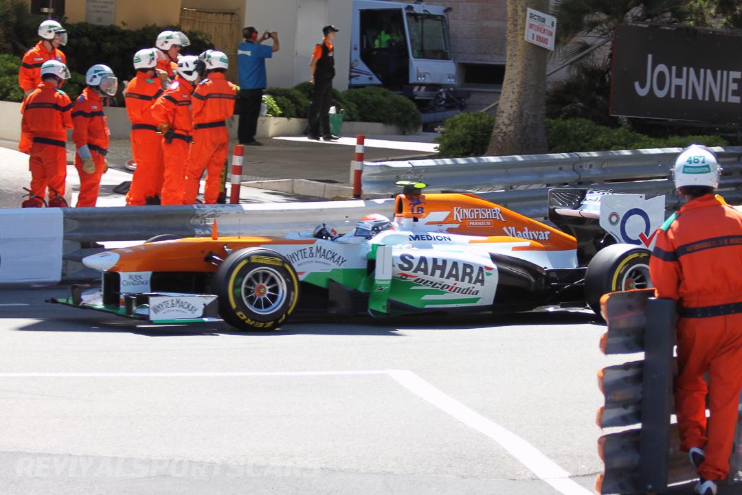 Monaco Formula 1 2013 force india marshalls