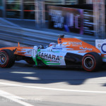 Monaco Formula 1 2013 force india orange