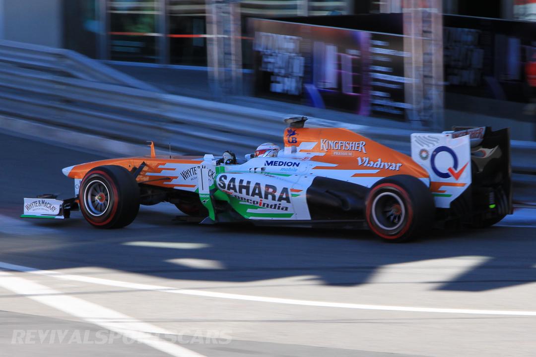 Monaco Formula 1 2013 force india orange