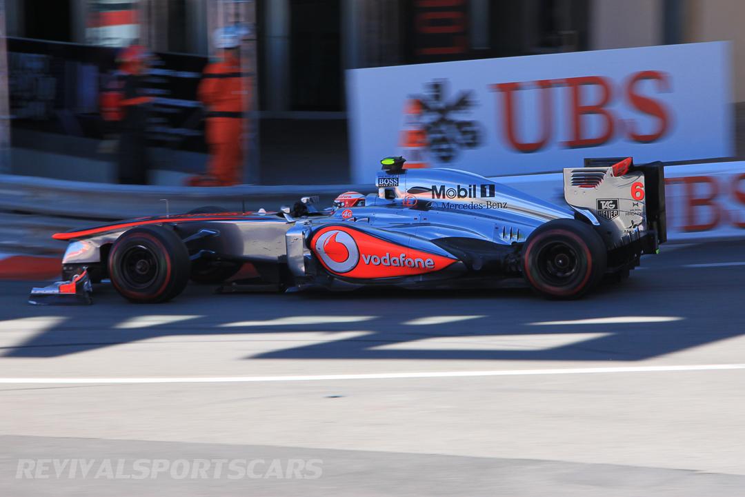 Monaco Formula 1 2013 maclaren chrome