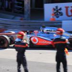 Monaco Formula 1 2013 maclaren finish