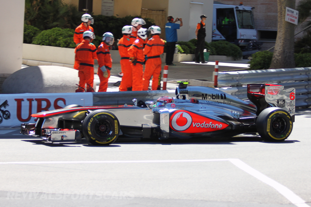 Monaco Formula 1 2013 maclaren side low