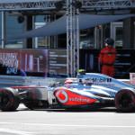 Monaco Formula 1 2013 maclaren side profile