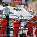 Monaco Formula 1 2013 marshall