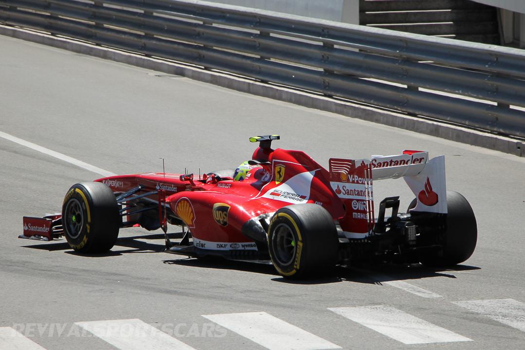 Monaco Formula 1 2013 marussia rear side