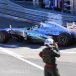 Monaco Formula 1 2013 mercedes blur
