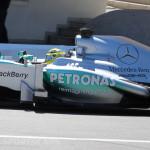 Monaco Formula 1 2013 mercedes closeup