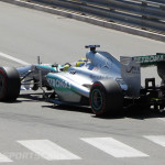 Monaco Formula 1 2013 mercedes rear high