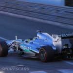 Monaco Formula 1 2013 patronas rear shot