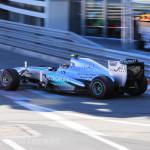 Monaco Formula 1 2013 rear mercedes patronas