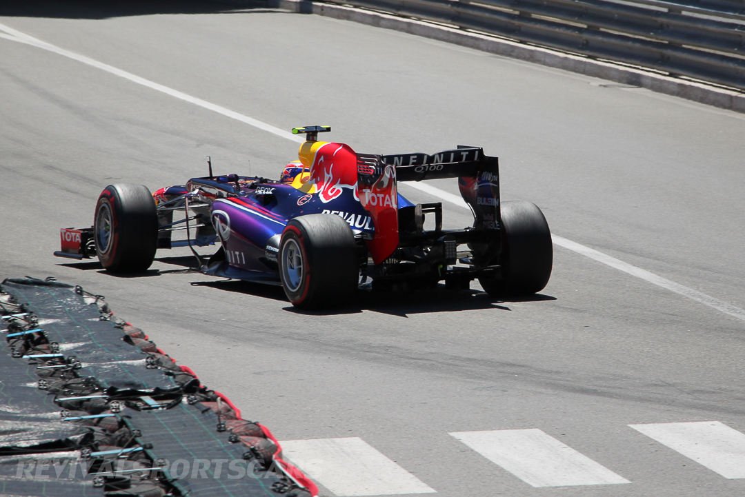 Monaco Formula 1 2013 red bull distance rear