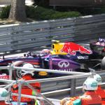 Monaco Formula 1 2013 red bull marshalls