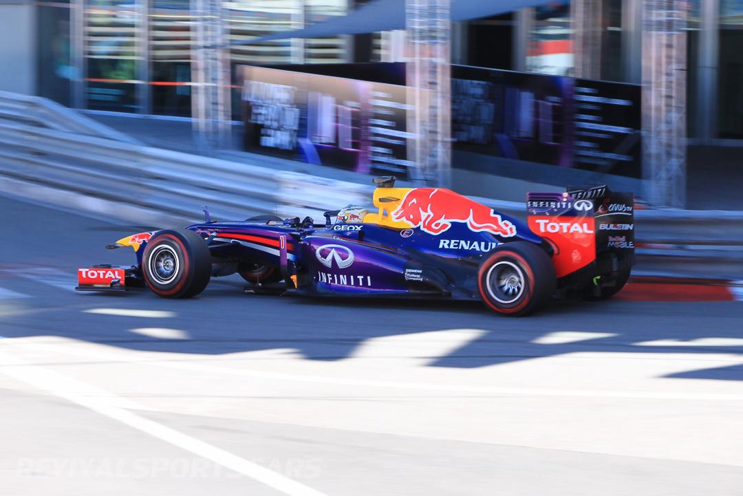 Monaco Formula 1 2013 red bull purple